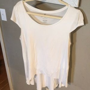 American Eagle Soft & Sexy T w/ cross cut front